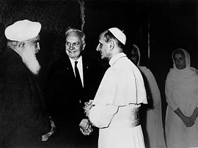 Sant Kirpal Singh with-Pope-aktuell