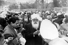 During the Third Conference of World Religions, 26 February, 1965, Delhi